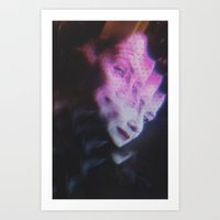 ahs Art Prints featuring AHS Angel Death  by Connor Caldwell