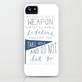 Redeeming Love iPhone Case