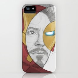 circlefaces iPhone Case