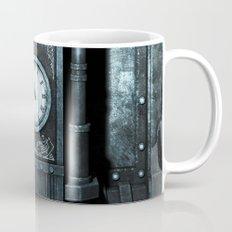 Silver Steampunk Generator Machine Mug