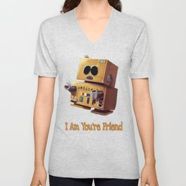 I Am You're Friend Unisex V-Neck
