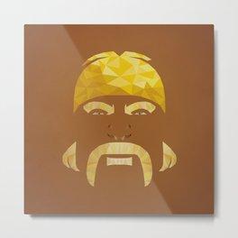 Mr. Hogan Metal Print