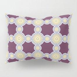 Mitosis Circular Print Seamless Pattern Pillow Sham