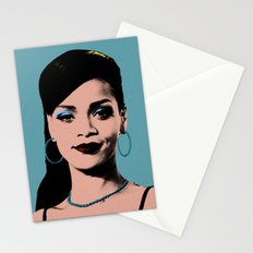 Rihanna Pop Art Stationery Cards