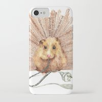 hamster iPhone & iPod Cases featuring Hamster by Creative Stace