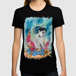 Alaska Wildflowers: Fireweed & Forget-me-nots T-shirt