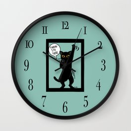 Now I am here Wall Clock