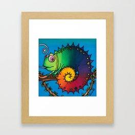 Aren't ALL Chameleons Called George? Framed Art Print