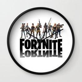 Fortnite all heroes Wall Clock