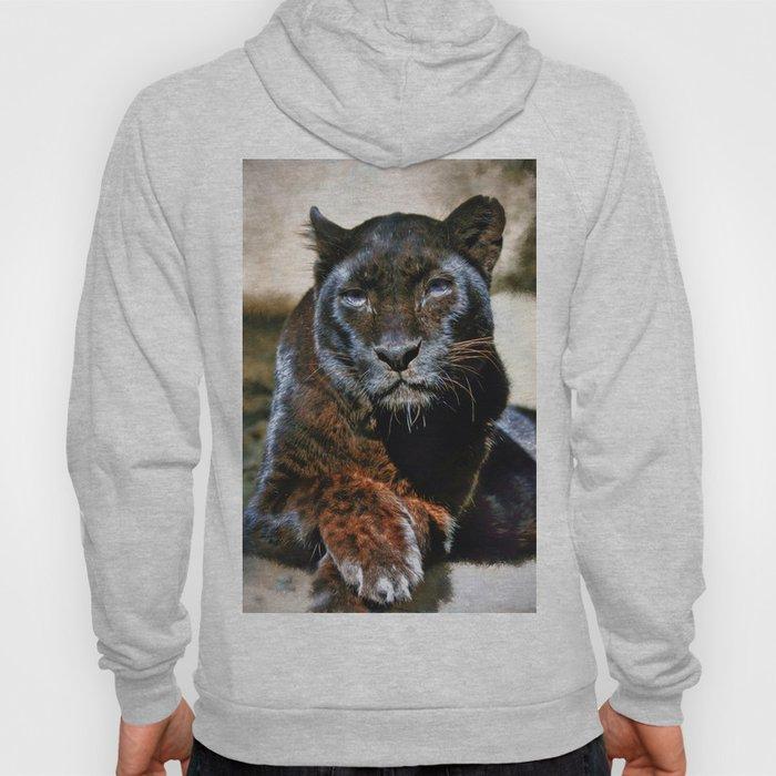 The Black Leopard Hoody