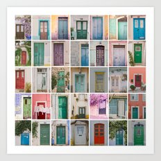 Door Collection Art Print