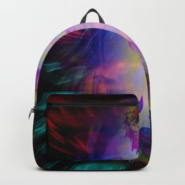 Abstract Perfection 38  Heavenly apparition Backpack