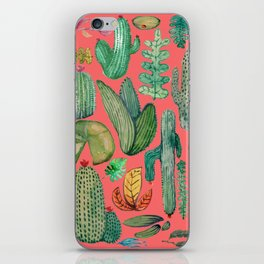 Summer Nature in Pink iPhone Skin