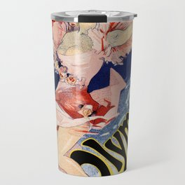 Olympia Paris 1892 by Jules Chéret Travel Mug