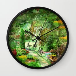 Tim Burton Willy Wonka Wall Clock
