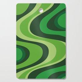 70's Green Vibe Cutting Board