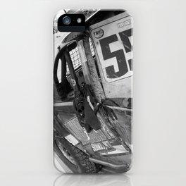 Track Noir TORC #9 iPhone Case