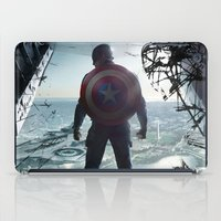 steve rogers iPad Cases featuring Steve Rogers 002 by TheTreasure