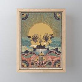 LA -Inspired by Penny Dreadful: City of Angels Framed Mini Art Print