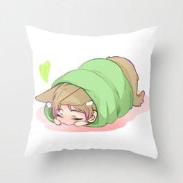 Bow wow Throw Pillow