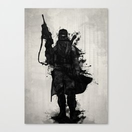 Post Apocalyptic Warrior Canvas Print