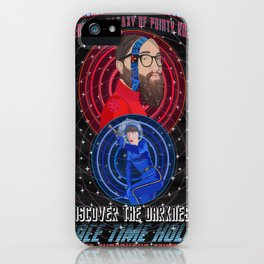 Space Time Hole 7 iPhone Case