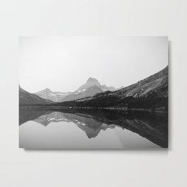 Swiftcurrent Lake, Glacier National Park Metal Print