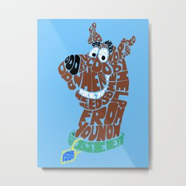 scooby Metal Print