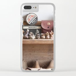 Old Shoe Shop Clear iPhone Case