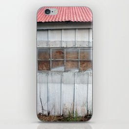 Red Tin Roof iPhone Skin