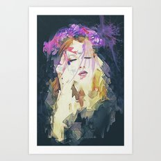 Path - Abstract Portrait Art Print