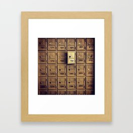 Golden Opportunity Framed Art Print