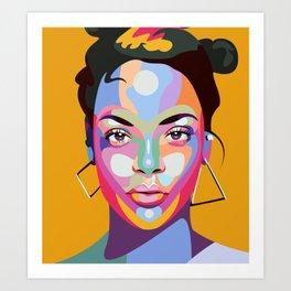 Rihannna Art Print