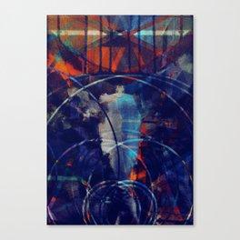 Kvikkalkul Canvas Print