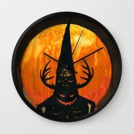 Autumn Acolyte Wall Clock