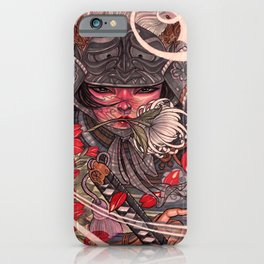 Female Samurai Warrior iPhone Case