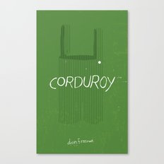 CORDUROY by Don Freeman : Book Cover Re-Design Canvas Print