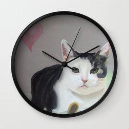 Kitty the Cat Wall Clock