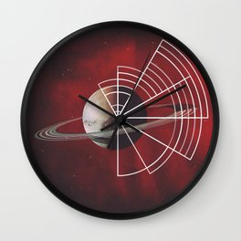"Mixed Media, ""Consume Me"" 2014 Wall Clock"