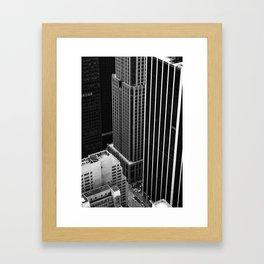 New York Streets Framed Art Print