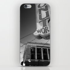 Donut World : Inner Sunset, San Francisco iPhone & iPod Skin