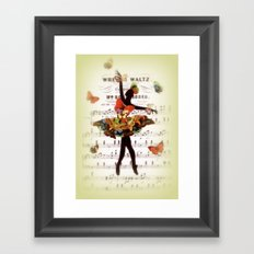 Butterfly Waltz Framed Art Print