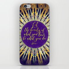 Inspire Artistry • Do What You Love iPhone Skin