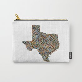 Map of Texas Carry-All Pouch