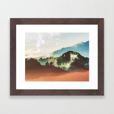 Mighty Mountain #society6 #decor #buyart Framed Art Print