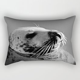 Howth Harbour Seal Rectangular Pillow