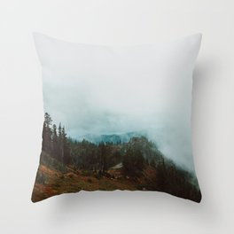 Park Butte Lookout - Washington State Throw Pillow