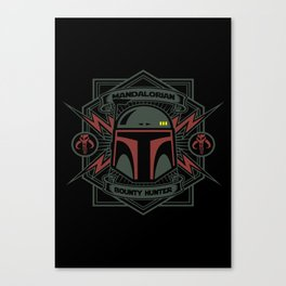 Mandalorian B H Canvas Print
