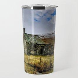 Derilict in the Yorks Dales Travel Mug