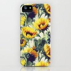 Sunflowers Forever Slim Case iPhone SE